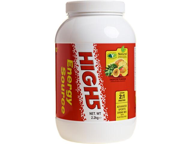 High5 EnergySource Advanced Sports Drink Tub 2,2kg, Tropical